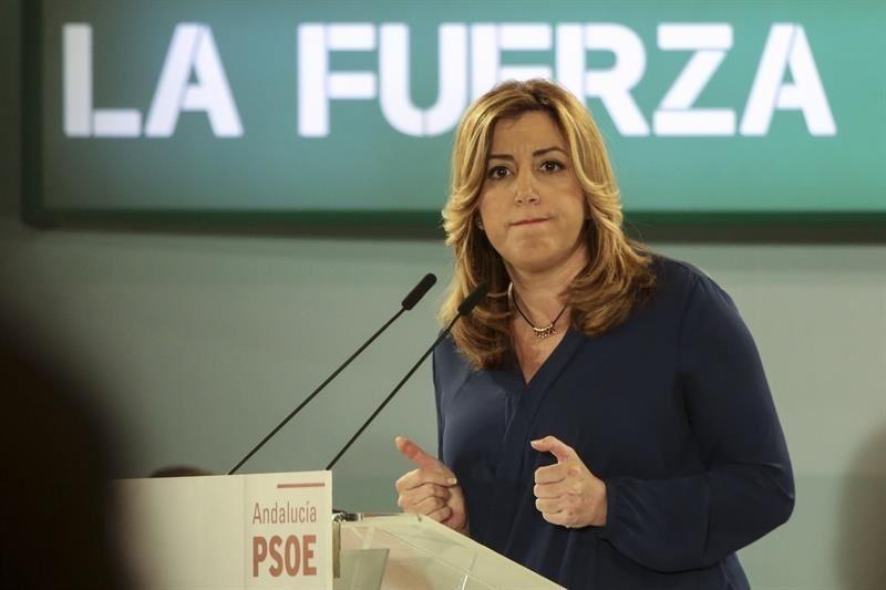 """Actualidad Actualidad Susana Díaz dice que el PSOE va unido al 26J: """"Pedro tiene que ganar para ser presidente"""""""