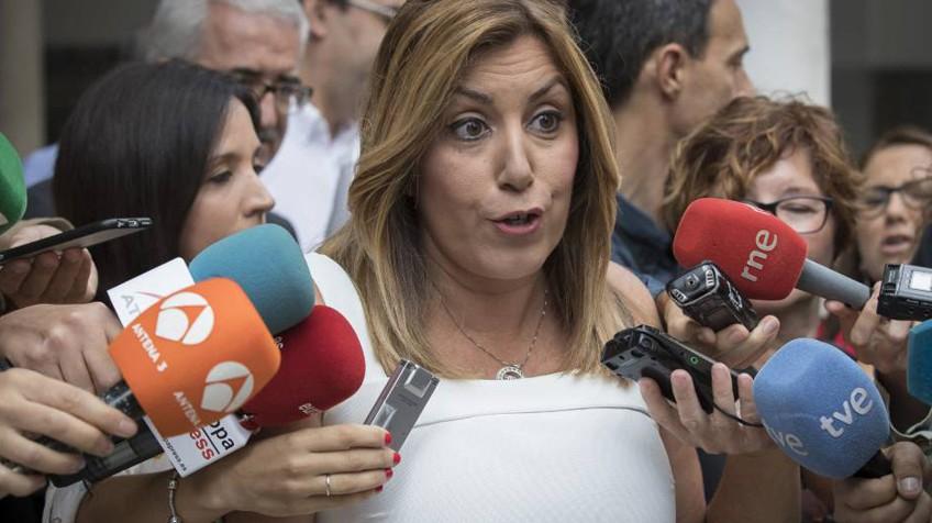 Actualidad Actualidad Susana Díaz insiste en que pedirá a Trump que cumpla con empleados españoles en las bases