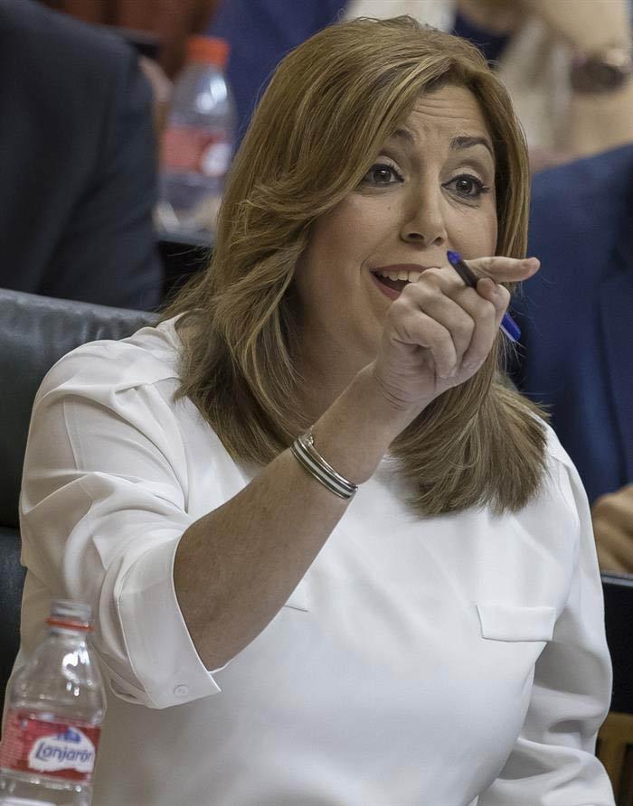 Actualidad Actualidad 'Rifirrafe' entre Susana Díaz y Teresa Rodríguez a cuenta de los Presupuestos de Rajoy y de Trump