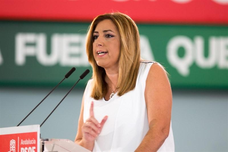 Actualidad Actualidad Susana Díaz ve compatible ser presidente de la Junta y secretario general del PSOE