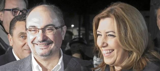 Actualidad Actualidad El presidente de Aragón a Díaz: «Estoy seguro de que vas a acabar mandando»