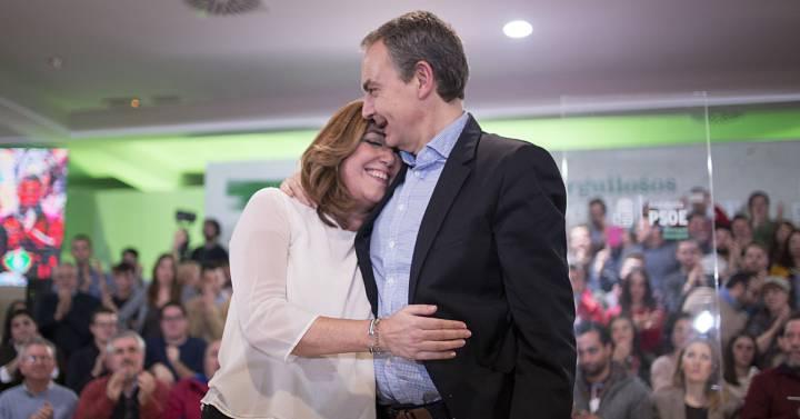 """Actualidad Actualidad Rodríguez Zapatero: """"Susana Díaz cuenta con todo mi apoyo"""""""
