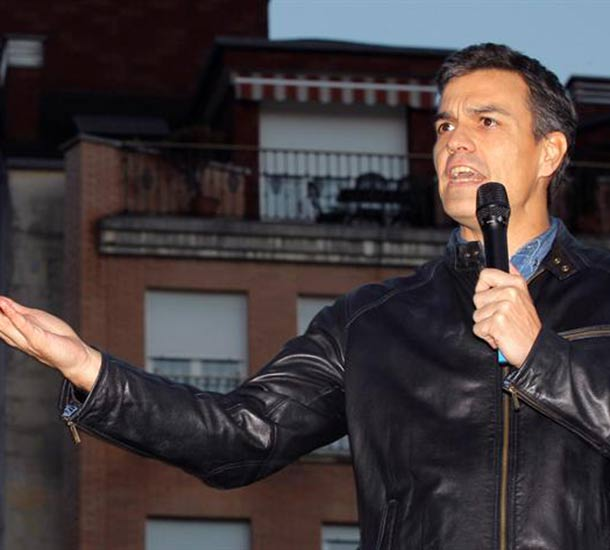 Actualidad Actualidad Pedro Sánchez anuncia su candidatura para liderar el PSOE