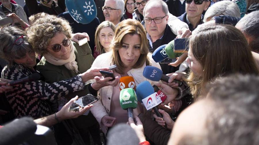 Actualidad Actualidad Susana Díaz espera el momento propicio para competir con Sánchez y López