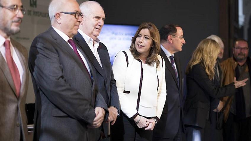 """Actualidad Actualidad El PSOE andaluz a los críticos: """"Basta ya de falacias, demagogia y engaños"""""""