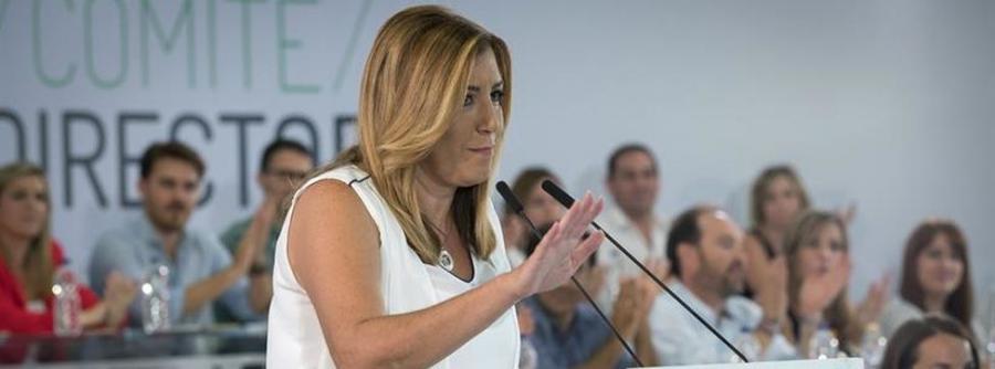 Actualidad Actualidad Susana Díaz anunciará su candidatura a liderar el PSOE coincidiendo con el segundo aniversario de su victoria en Andalucía