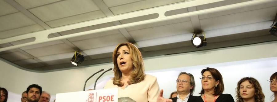 Actualidad Actualidad Susana Díaz anima a los suyos a no tirar la toalla