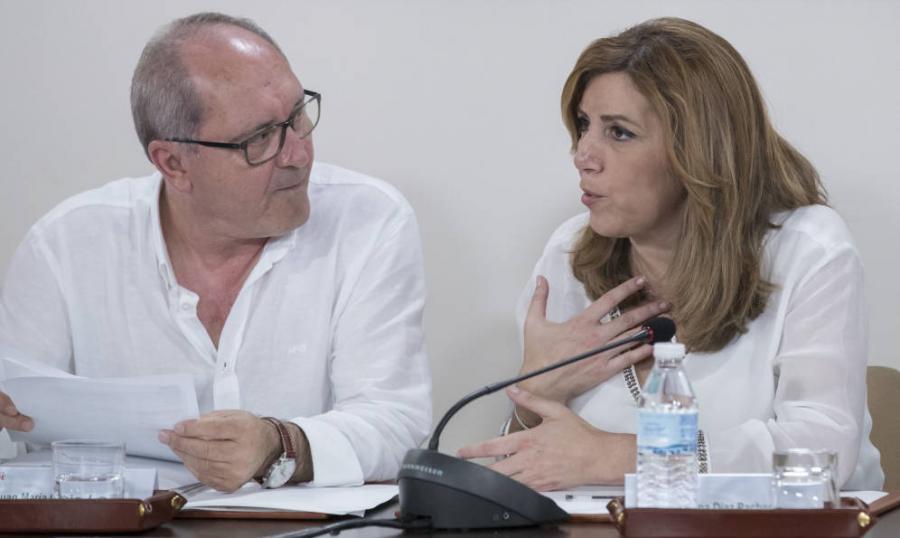 Actualidad Actualidad Susana Díaz rechaza pactar listas únicas al congreso: Ahora todos somos de Pedro.