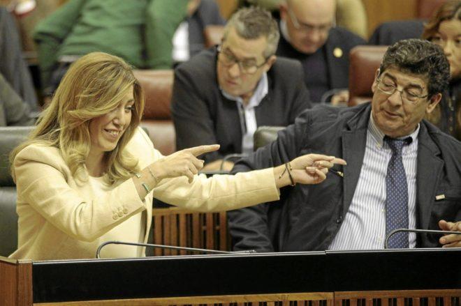 Actualidad Actualidad Susana Díaz abre una brecha en IU metiendo en su gobierno a un ex dirigente de la coalición