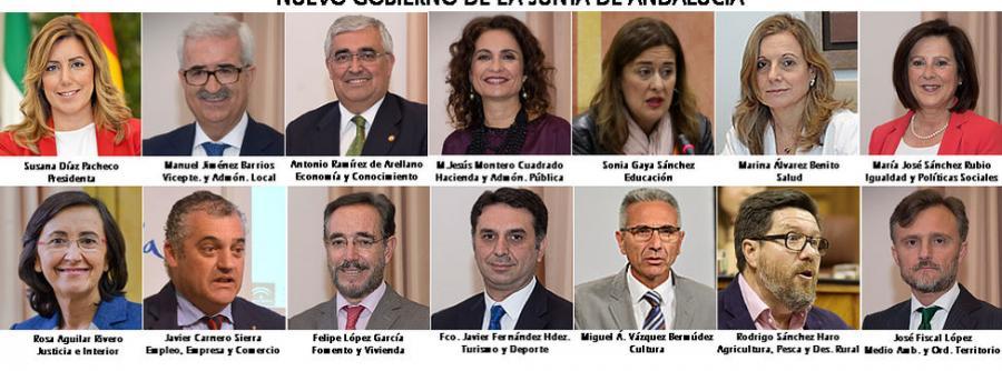 Actualidad Actualidad Susana Díaz se desprende del perfil más académico y apuesta por figuras cercanas y de partido
