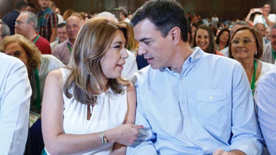 Actualidad Actualidad Susana Díaz pide a Pedro Sánchez que no le haga elegir entre la lealtad al PSOE y a Andalucía