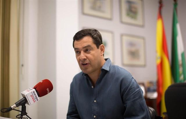"""Actualidad Actualidad Moreno se siente """"completa y absolutamente"""" respaldado por el partido, que está """"renovado y unido"""" tras los congresos"""