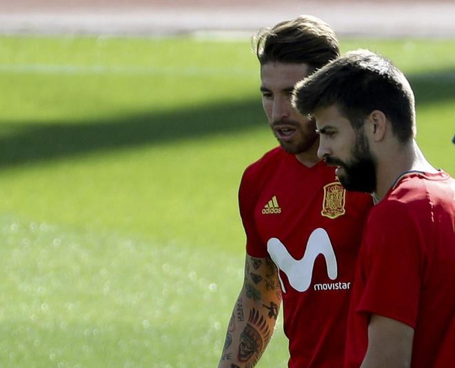 """Actualidad Actualidad Mundial 2018: Sergio Ramos: """"El Rey, para mí, 'chapeau'"""""""