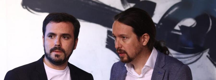 Actualidad Actualidad Alberto Garzón pide a Pablo Iglesias revisar la confluencia entre IU y Podemos antes de Semana Santa