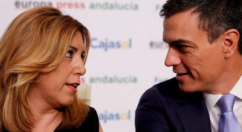 """Actualidad Actualidad Susana Díaz reitera su apoyo a la dirección de Pedro Sánchez: """"Lo que hagan me parecerá bien"""""""