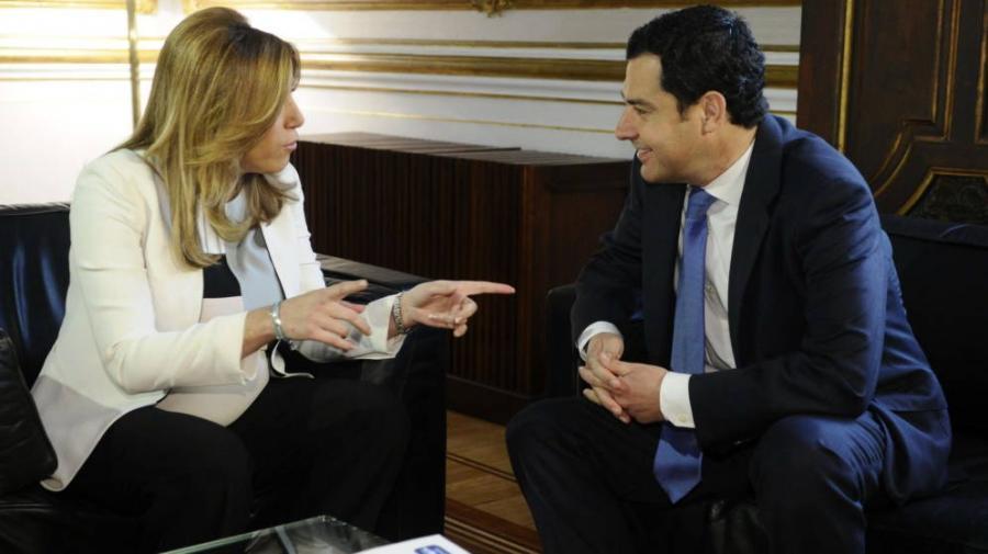 Actualidad Actualidad Hacienda: El PP se une al frente de izquierdas de Susana Díaz por la financiación y Cs se aísla