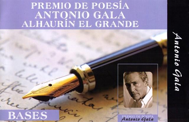 Málaga Málaga El Ayuntamiento de Alhaurín el Grande convoca el XII Premio Internacional de Poesía Antonio Gala