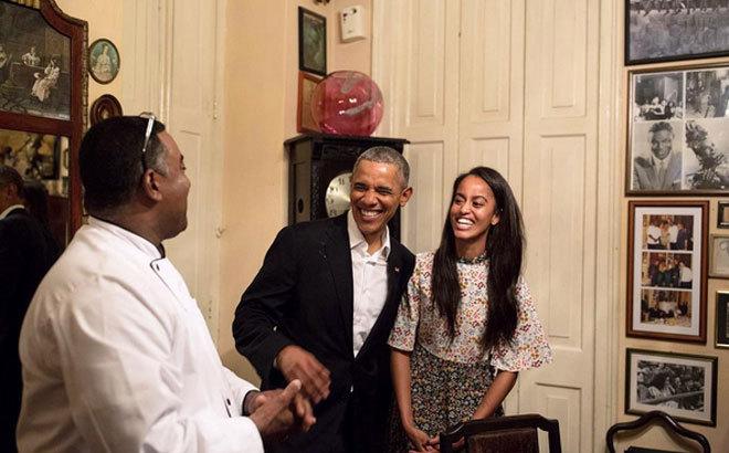 Internacional Internacional La hija de los Obama, traductora en Cuba, y otras anécdotas de su viaje